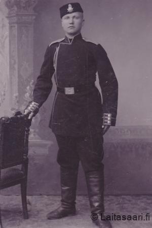 Jaako Rahko Tsaarin armeijassa n. 1900