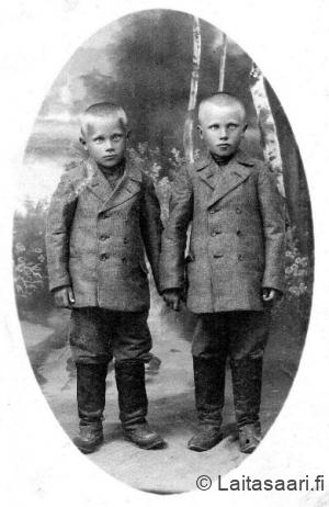 Veljekset Janne ja Heikki Rahko