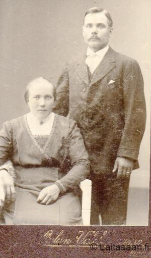 Liisa o.s. Rahko ja Heikki Arola
