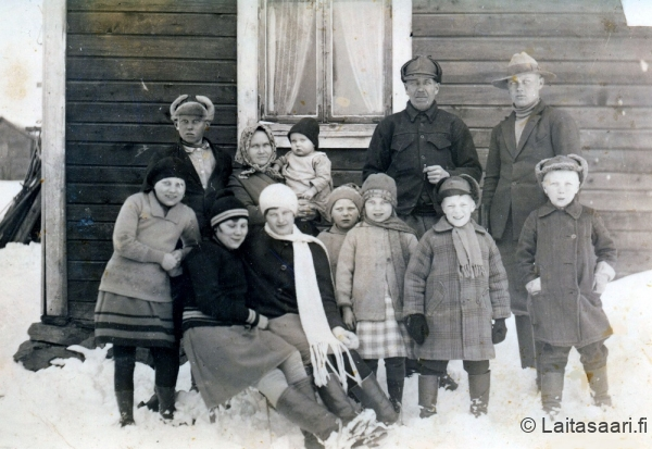 Rahkon väkeä vuonna 1931
