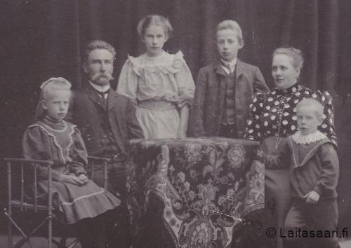 Albert Herman Snellman ja Mathilda Katharina o.s. Källström