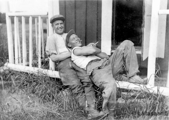 Paavo Holappa ja Janne Rahko