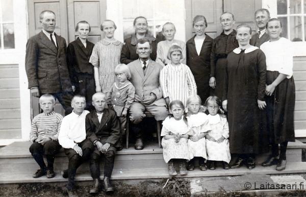 Aappo Kinnusen 70-vuotisjuhla Karhussa 1925