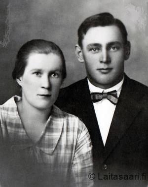 Antti Määttä (s. 1902) ja Anna Rovala
