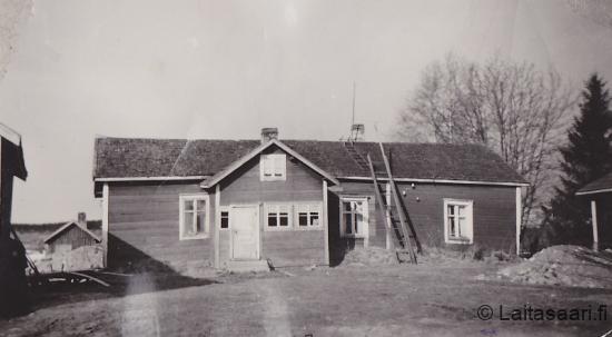 Pienimäättä - Pekka-Määtä vanha asuinrakennus