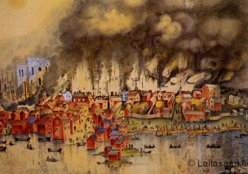 Oulun suurpalo 22.5.1822