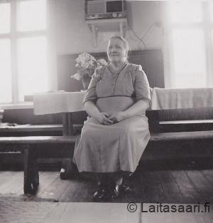 Olga-emäntä pirtissä
