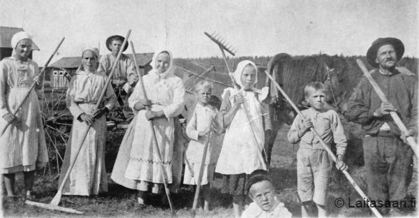 Leskelän heinäväkeä (1920-luku)
