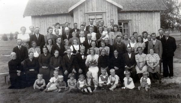 Jaakko ja Eila Putaalan häät 1946