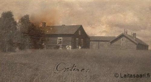 Vanha kuva Onteron talosta