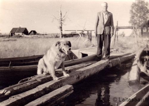 Jukka ja Topi-koira