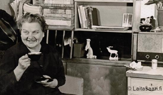 Kirjailija Salli Lund (o.s. Mäkelä)