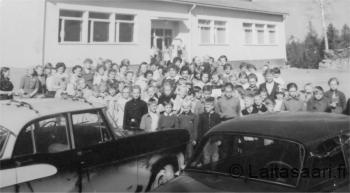 Sanginjoen koulu 1960