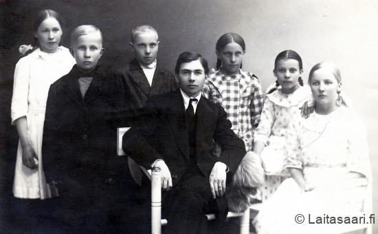 Laitasaaren kansakoulu IV luokka 1921-22