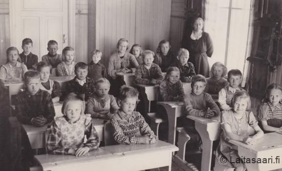 Huovilan koululaisia 1949-50