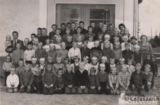 Laitasaaren koululaiset 1960