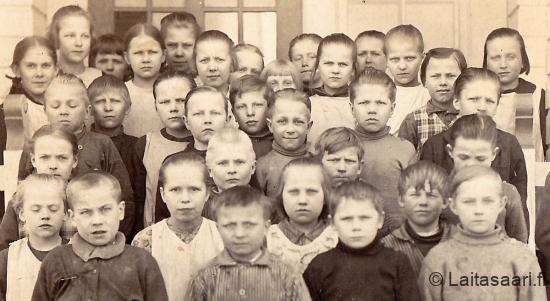 Hyrkin koululaisia 1929