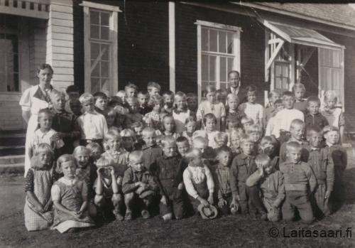 Hyrkin koulu 1938