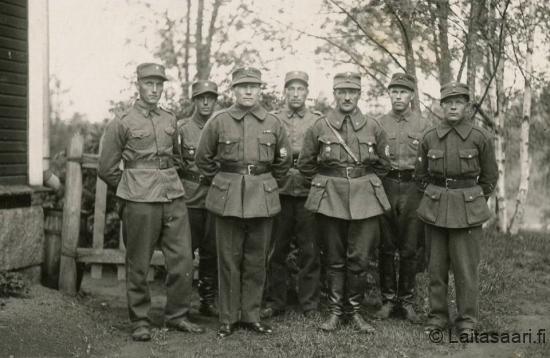 Muhoksen ja Laitasaren miehiä (1937)