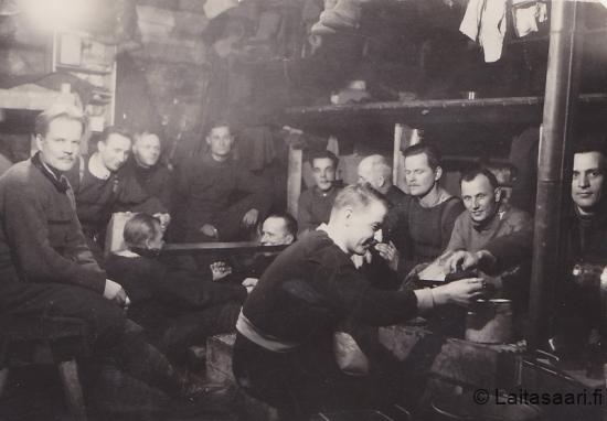 Korsuelämää sota-aikaan