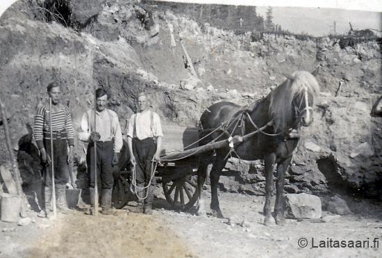 Ratatyömaa 1925