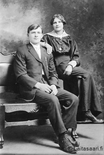 Jaakko ja Lydia Holappa