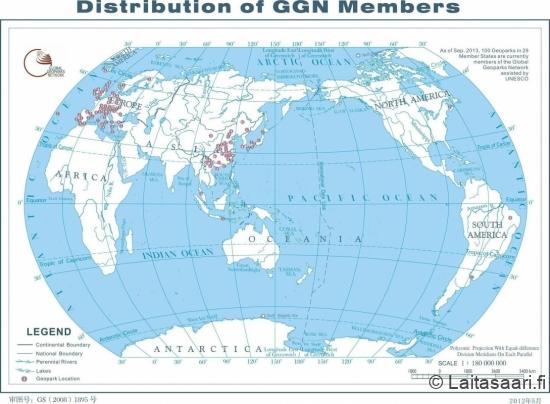 Geopark-verkosto