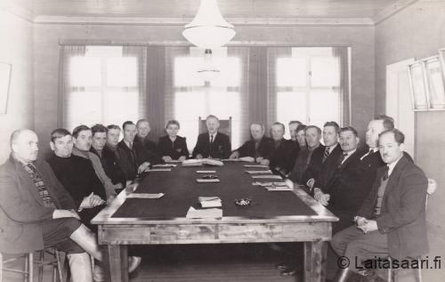 Muhoksen kunnanvaltuuston kokous 1938