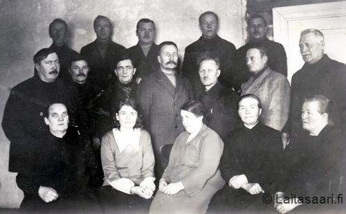 Muhoksen kunnanvaltuuston kokous vuonna 1930