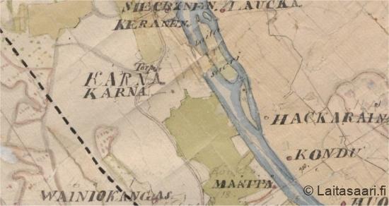 Kartta Kärnistä