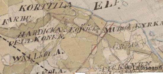 Valkola - Koivikko, 1850-luku