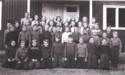 Huovilan koululaisia 1940-50