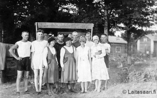 PPNSL kesäjuhla Haukiputaalla v. 1933