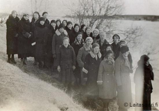 Käynti Päivärinteellä 1933