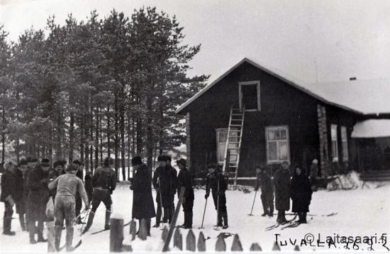 Hiihtokilpailut Tuvalla 26.2.1933